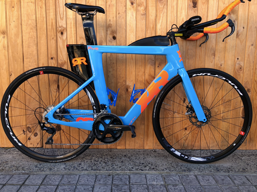 2019 QUINTANA ROO PRFIVE CARBON DISC 56CM DEMO TRIATHLON BIKE - Sportopia Cycles