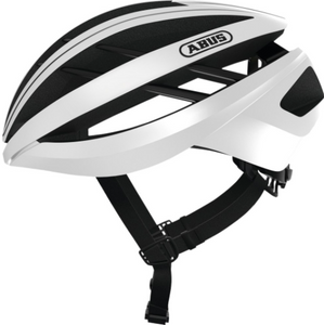 ABUS - AVENTOR POLAR WHITE. LARGE HELMET - Sportopia Cycles