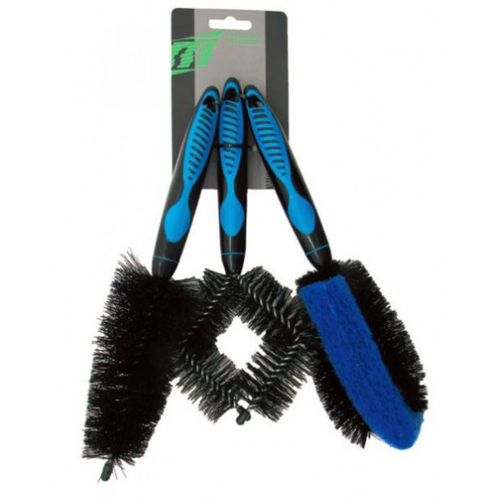 BICYCLE CLEANING 3PC BRUSH SET - Sportopia Cycles