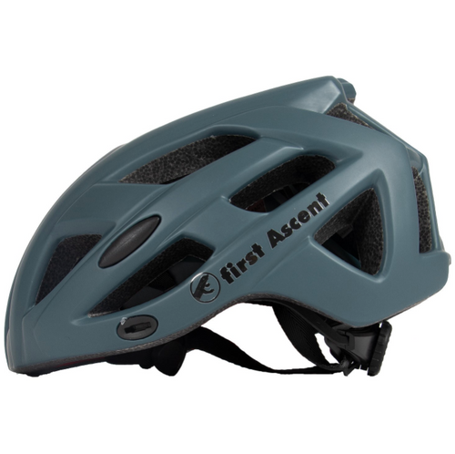 FIRST ASCENT - GRAVEL WHITE LARGE ( 58 - 61CM ) HELMET - Sportopia Cycles