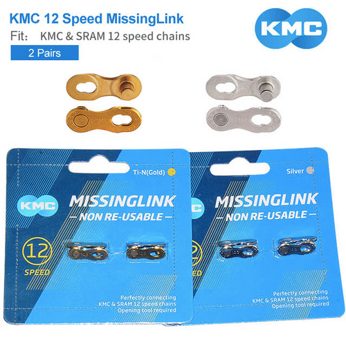 KMC - 12 SPEED QUICK LINK 2-PACK - Sportopia Cycles