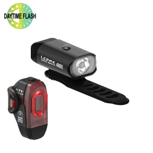 LEZYNE - FRONT+REAR MINI DRIVE 400/KTV PRO LIGHTS - Sportopia Cycles