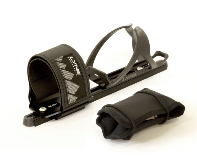 LYNE COMPONENTS HOLY RAIL BASE & STRAP + FOLDING BAG KIT - Sportopia Cycles