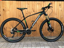 "Load image into Gallery viewer, ORBEA ALMA BLACK & GREEN MEDIUM PRE-OWNED 27,5"" MTB"