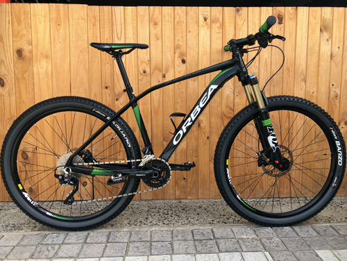 ORBEA ALMA BLACK & GREEN MEDIUM PRE-OWNED 27,5