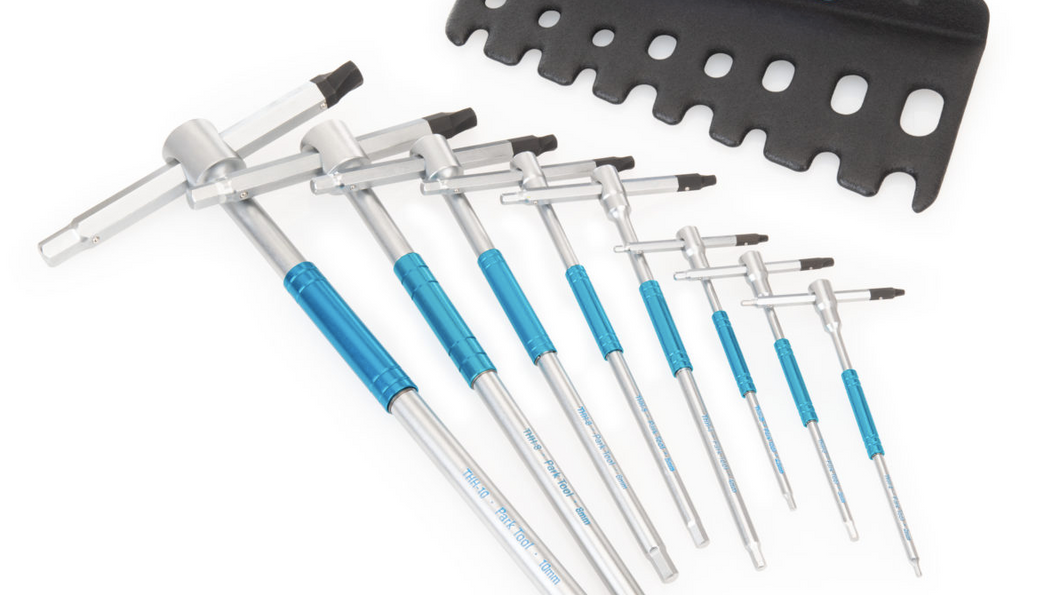 PARKTOOL THH-1 SLIDING T-HANDLE HEX WRENCH SET - Sportopia Cycles
