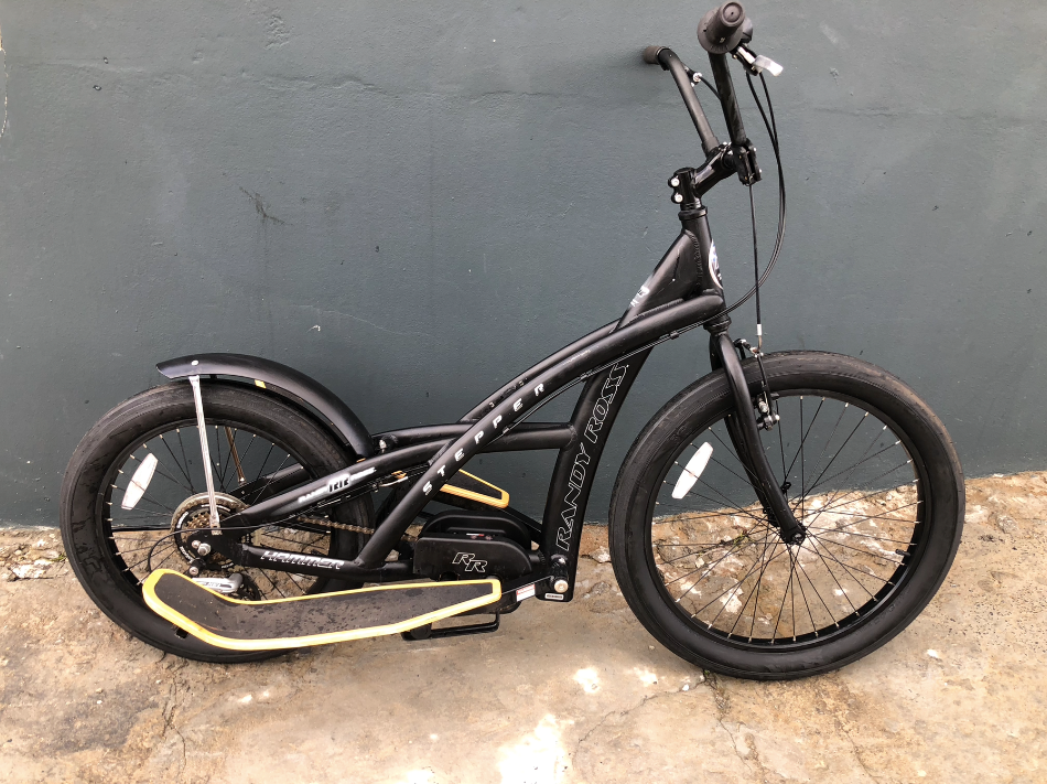 RANDY ROSS  BLACK  PRE-OWNED STEPPER BICYCLE - Sportopia Cycles