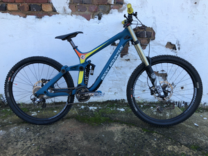 "ROCKY MOUNTAIN - MAIDEN VOYAGE DUAL SUSPENSION 26""/650B DOWNHILL MTB ( SECOND HAND) - Sportopia Cycles"