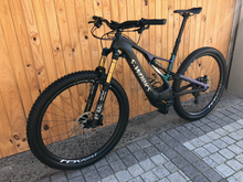 Load image into Gallery viewer, SPECIALIZED SWORKS CARBON LEVO 29ER M E-BIKE ( PRE-OWNED ) - Sportopia Cycles