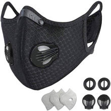Load image into Gallery viewer, SPORT MASK M2014 CARBON FILTER FOR OUTDOOR SPORTS - Sportopia Cycles