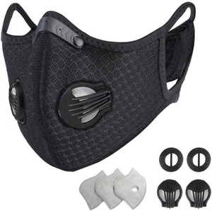 SPORT MASK M2014 CARBON FILTER FOR OUTDOOR SPORTS - Sportopia Cycles