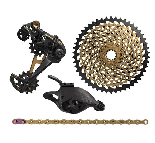 SRAM - XX1 EAGLE GOLD UPGRADE KIT ( EXCLUDING CRANKSET AND BRAKESET ) - Sportopia Cycles