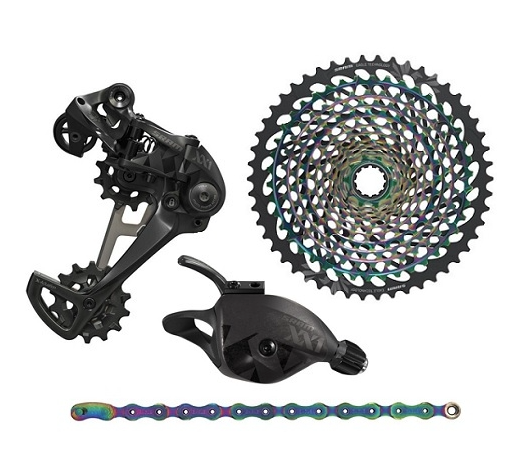 SRAM - XX1 EAGLE RAINBOW UPGRADE KIT ( EXCLUDING CRANKSET AND BRAKESET ) - Sportopia Cycles