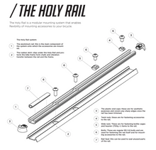 Load image into Gallery viewer, THE LYNE COMPONENTS HOLY RAIL 700MM KIT - Sportopia Cycles