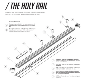 THE LYNE COMPONENTS HOLY RAIL 700MM KIT - Sportopia Cycles