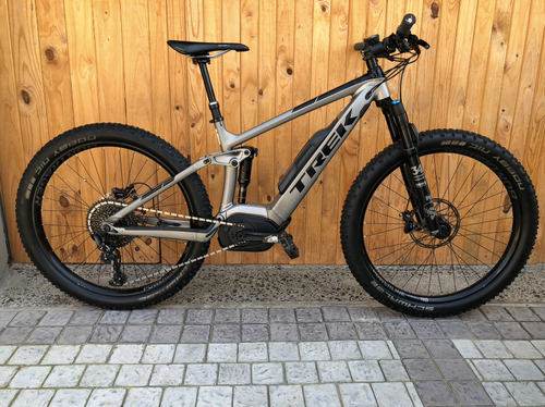 TREK POWERFLY 9 MEDIUM DUAL SUSPENSION E-BIKE PRE-OWNED
