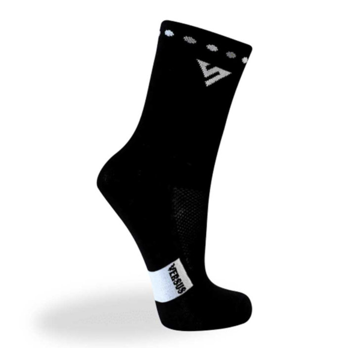 VERSUS BLACK CYCLING RACE SOCKS - Sportopia Cycles