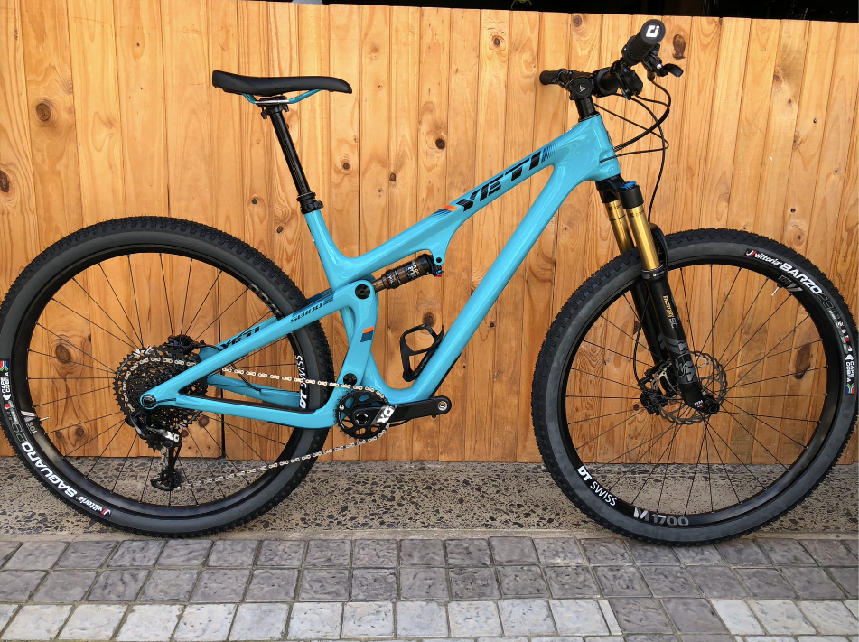 YETI SB100 FULL CARBON XL 29ER MTB ( PRE- OWNED ) - Sportopia Cycles