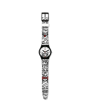 Orologio solo tempo Swatch I Love Your Folk da donna e da bambina/o