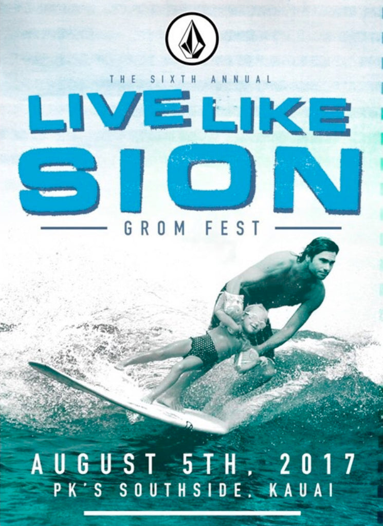 6th Annual Live Like Sion Grom Fest