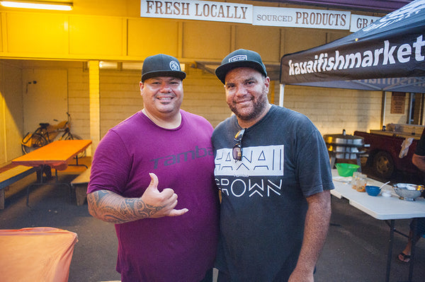 john rivera, tamba surf company, kauai, kapaa, bbq, ohana night, appreciation, family, kauai fish market, hanai, cheyanne jewels, sacred surf, art, art walk, art night