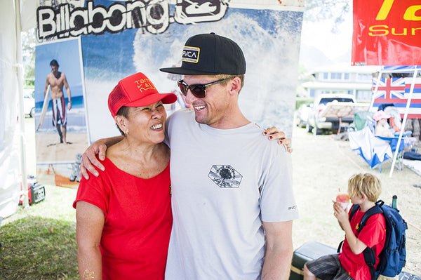 16th annual irons brother pine trees classic hanalei tamba surf company bruce irons aunty maco