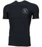 Stamp Rash Guard Short Sleeve Shirt