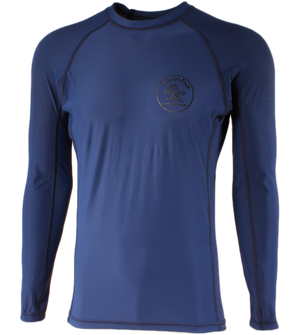 Stamp Rash Guard Long Sleeve Shirt