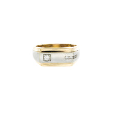 Load image into Gallery viewer, Men's Two Tone Diamond Ring