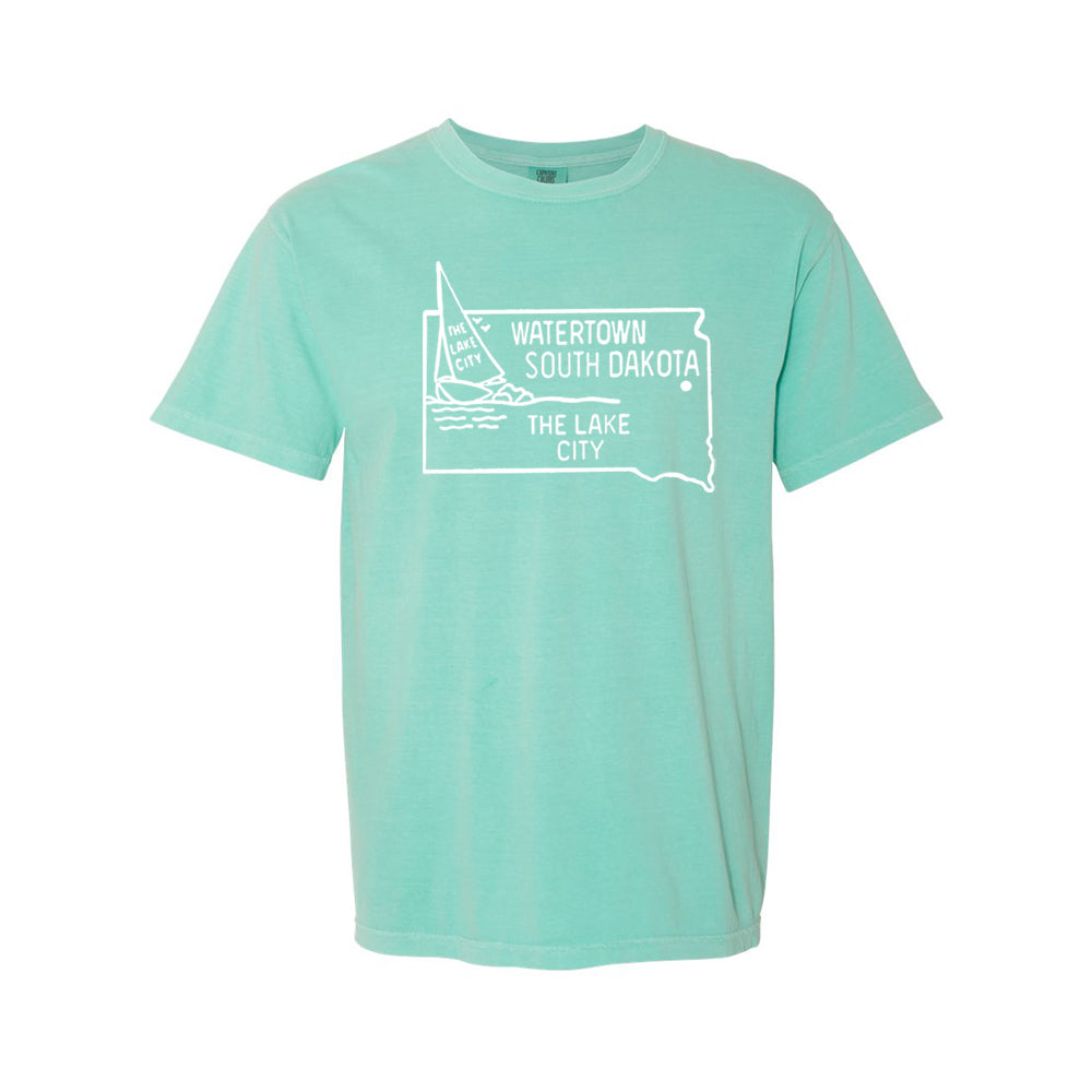 [PRE-ORDER] LAKE CITY TEE | MINT