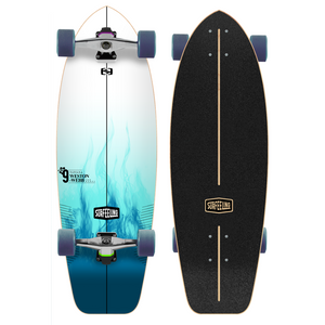 Surfeeling USA Tati Weston-Webb Signature Series Surfboard Skateboard