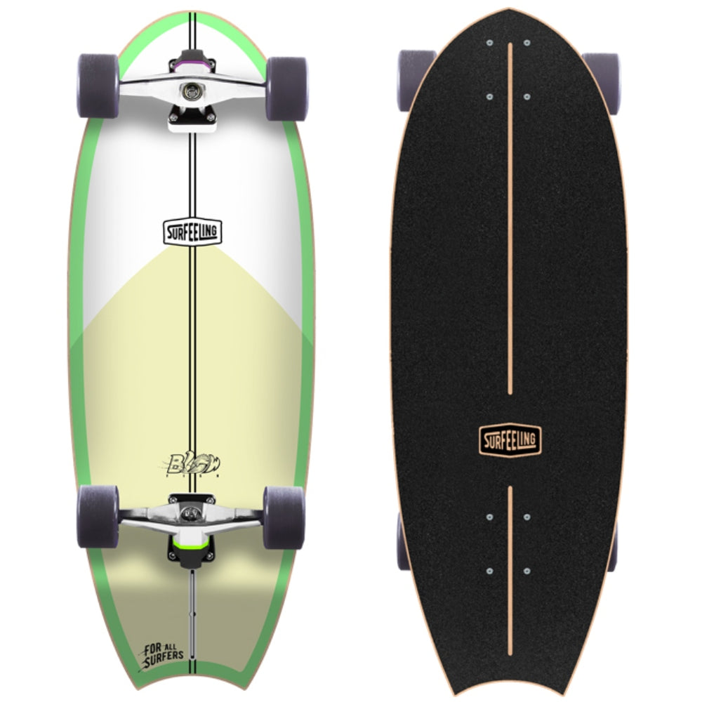 Surfeeling USA Blowfish Surfboard Series Skateboard