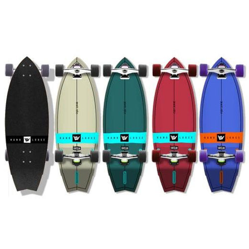 Surfeeling USA Hang Loose Surfboard Series Skateboard