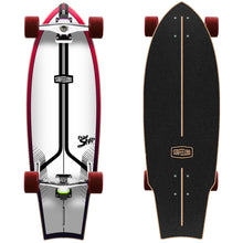 Load image into Gallery viewer, Surfeeling USA Snap Surfboard Series Skateboard