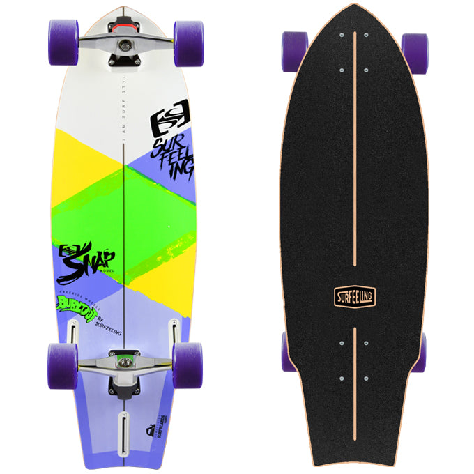Surfeeling USA Snap Surfboard Series Skateboard
