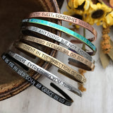 Customized Layering Cuff Bracelet
