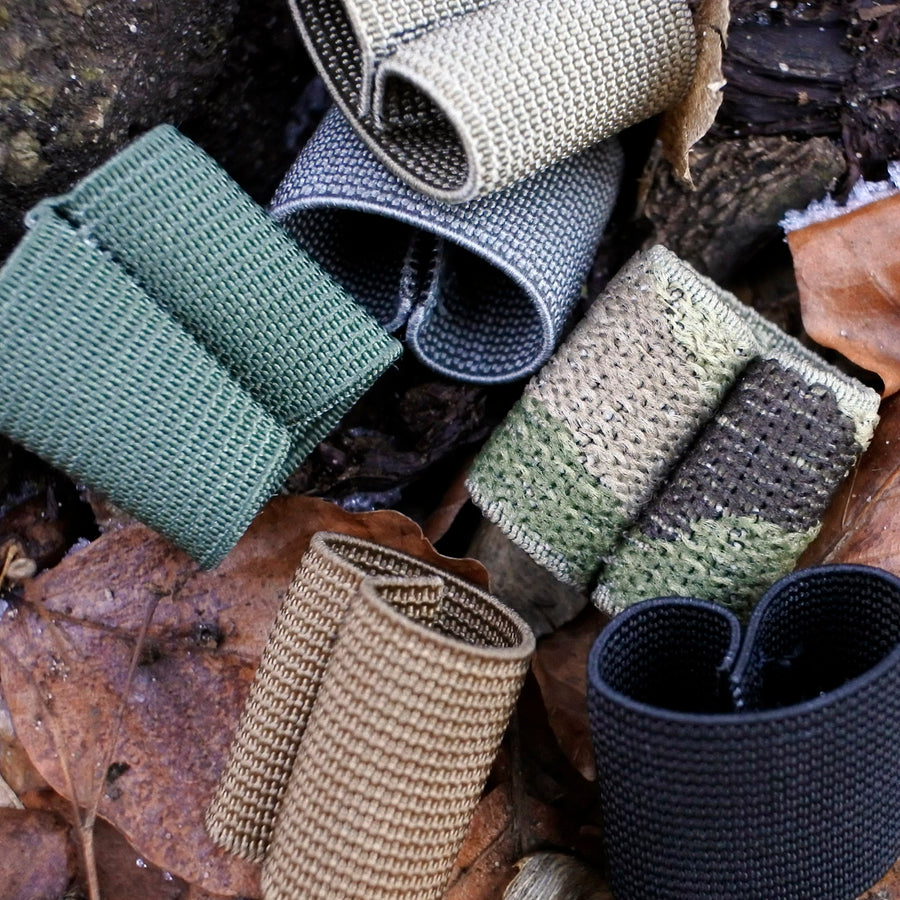 Elastic Webbing Keepers