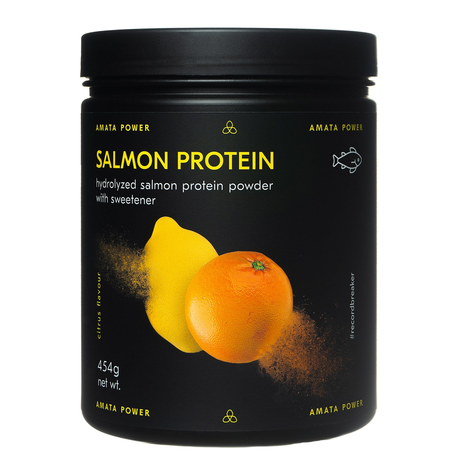 Salmon Protein Powder - 454g - Citrus