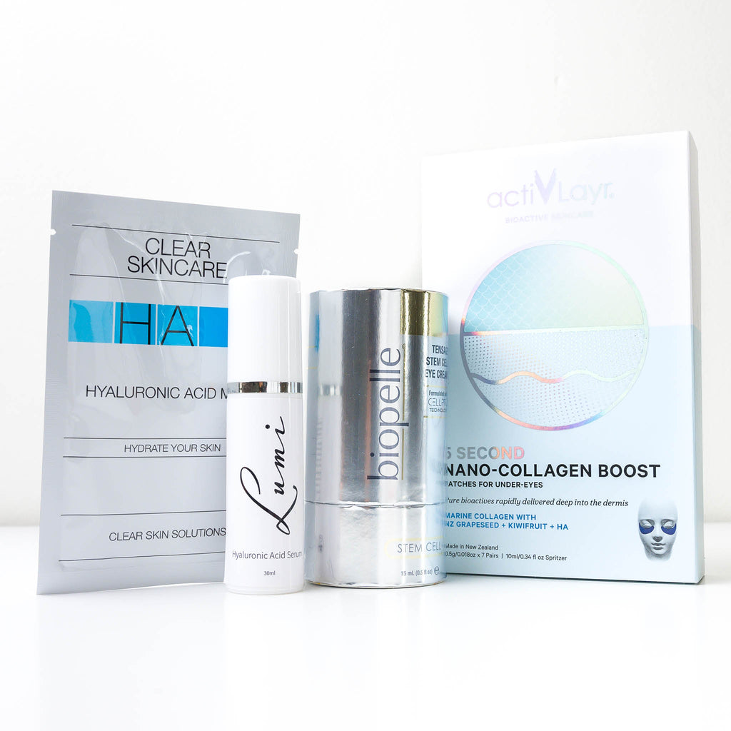 It's All About the Eyes, Hydration and Brightening Pamper Pack (Value $360)