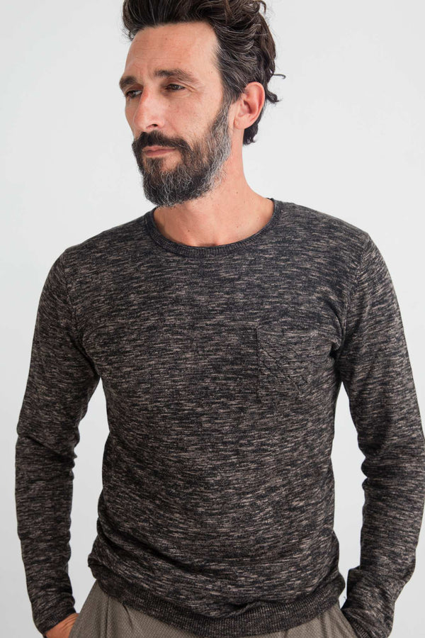 Jersey Marbled RoundNeck