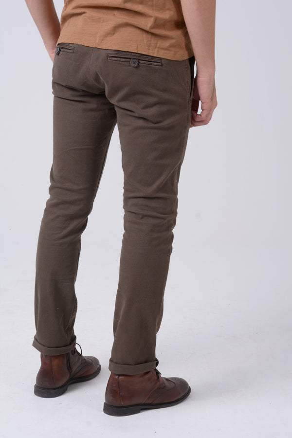 Pantalón Chino casual Brown