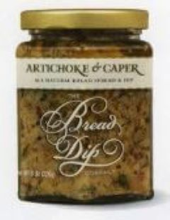 Artichoke and Caper  Bread Dip