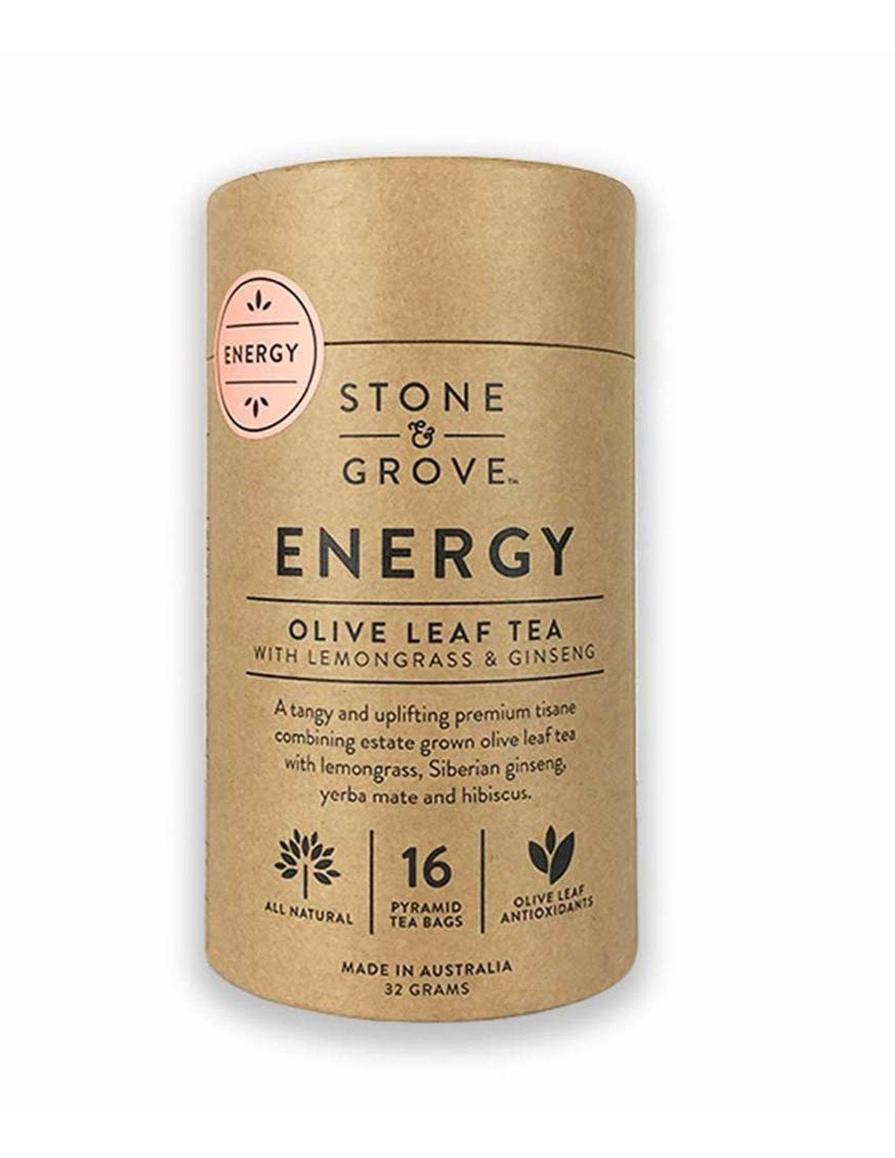 Stone and Grove Energy Olive Leaf Tea