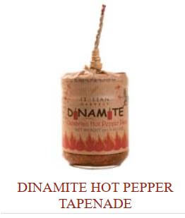 Dinamite Hot Pepper Tapenade