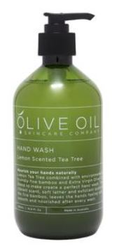 Hand Wash Lemon Scented with Tea Tree