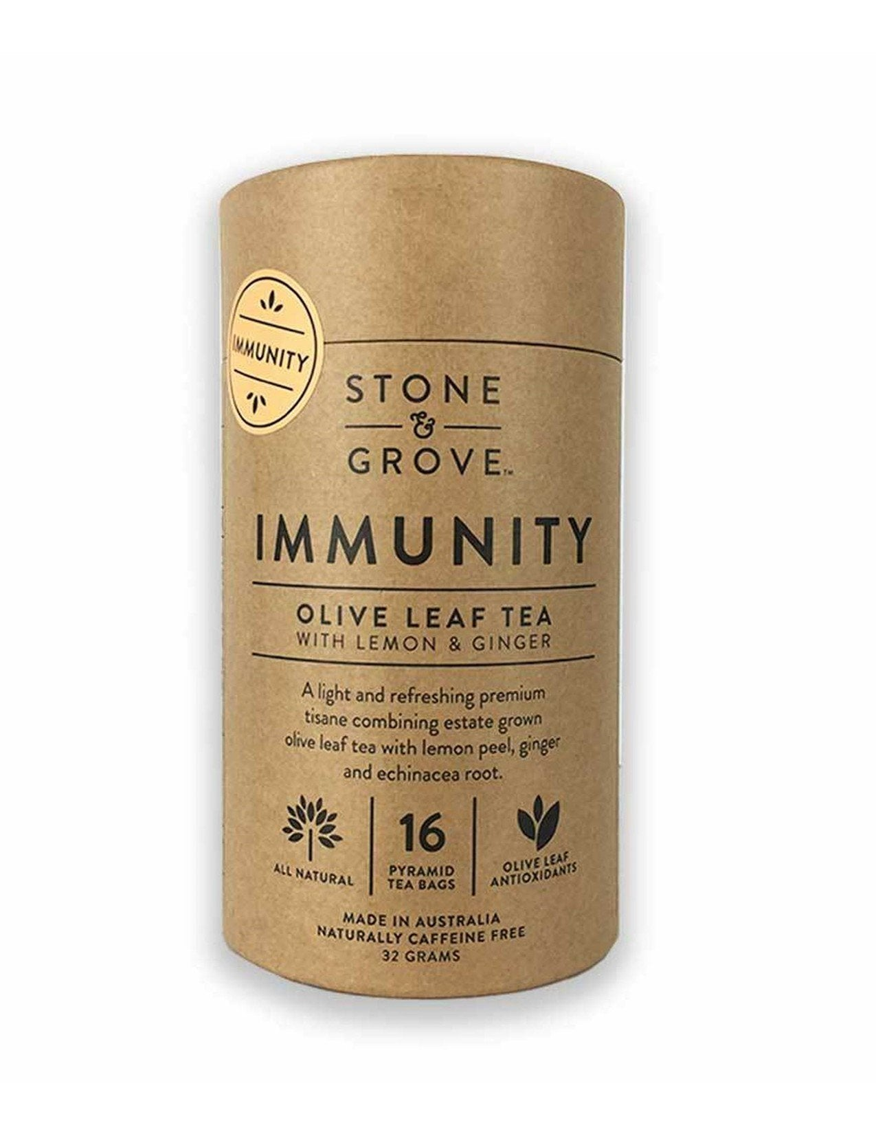 Stone and Grove Immunity Olive Leaf Tea