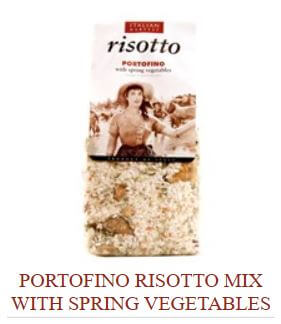 Portofino Risotto Mix with Spring Vegetables