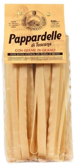 Wheat Germ Pappardelle