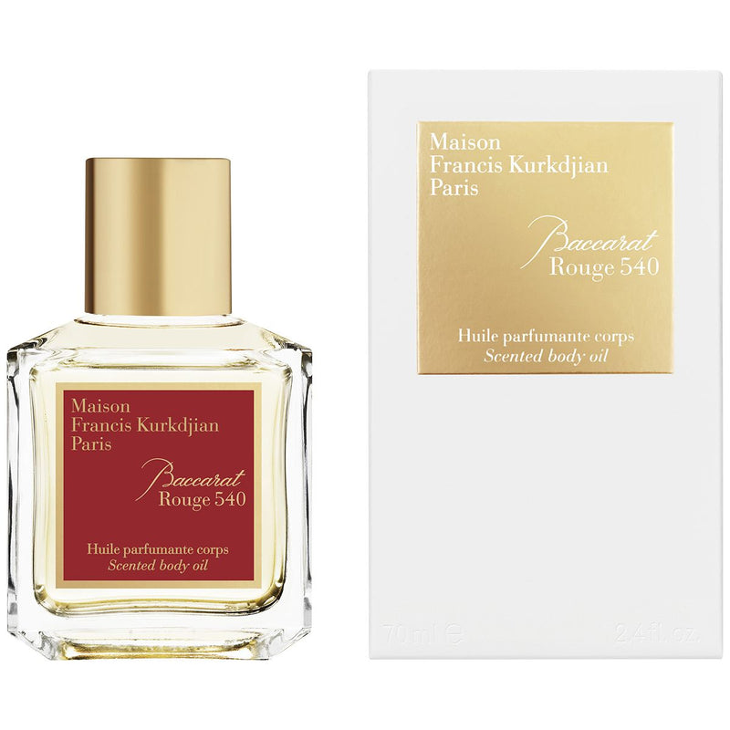 Baccarat Rouge Scented Body Oil