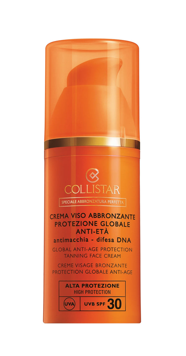 Anti-Age Protection Tanning Face Cream LSF 30